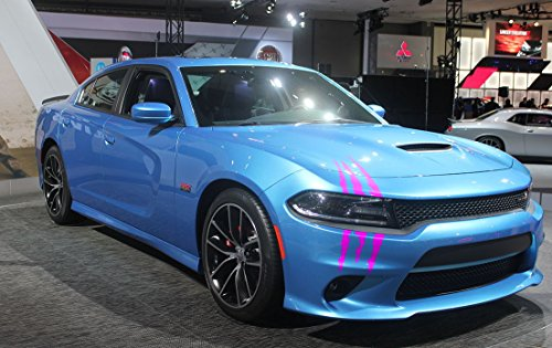 (ViaVinyl Claw Marks Headlight Decal Available in Nine Colors!. Genuine Brand Name Vinyl Sticker/Decal for Sports Cars.)