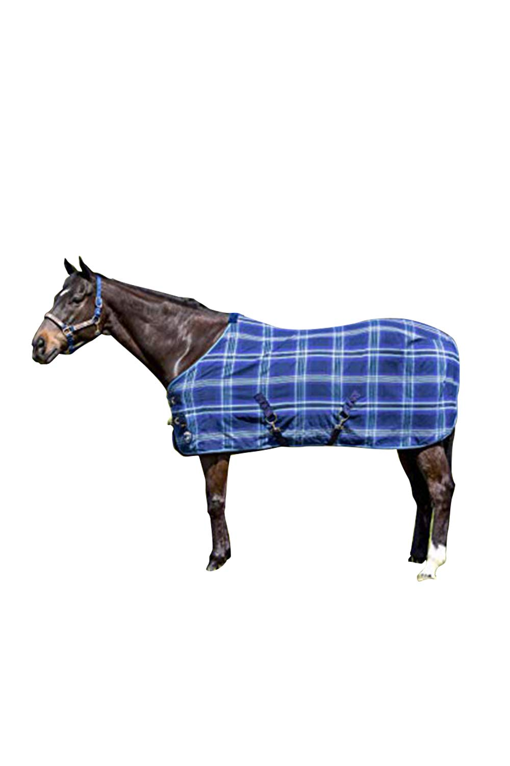 Kensington Products Poly Cotton Horse Blanket - Lightweight Breathable Equine Stable Day Sheet (78, 181- Kentucky Blue) by Kensington Protective Products