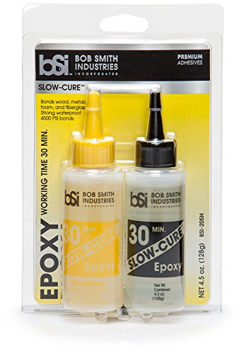 - Bob Smith Industries BSI-205 Clear Slow-Cure Epoxy (4.5 oz. Combined)