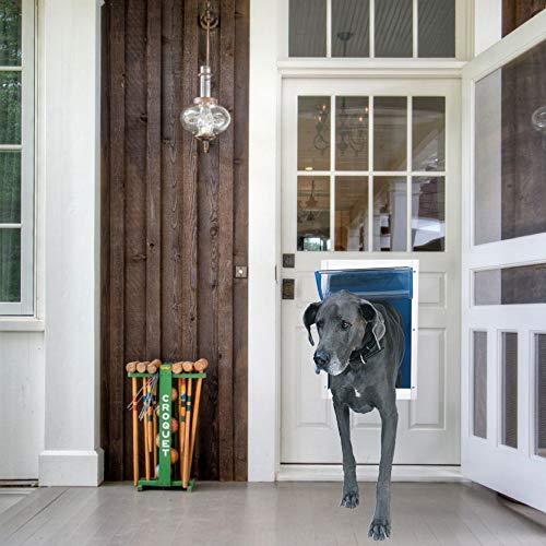 Deluxe Aluminium Pet Door Super Large