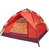 ALUK-Automatic outdoor camping tent 3-4 person double rainproof tents set up for Free
