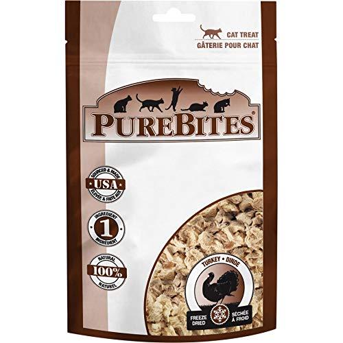 PureBites Turkey Freeze Dried Cat Treats (100 Pack) by PureBitES (Image #1)