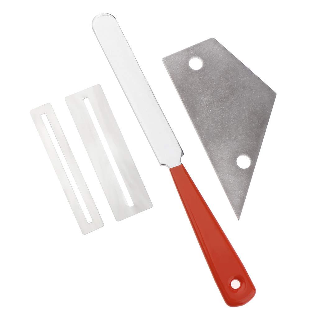 Steel Fret File+Fret Rocker Level+Fingerboard Fretboard Luthier Tool Supply Non-brand