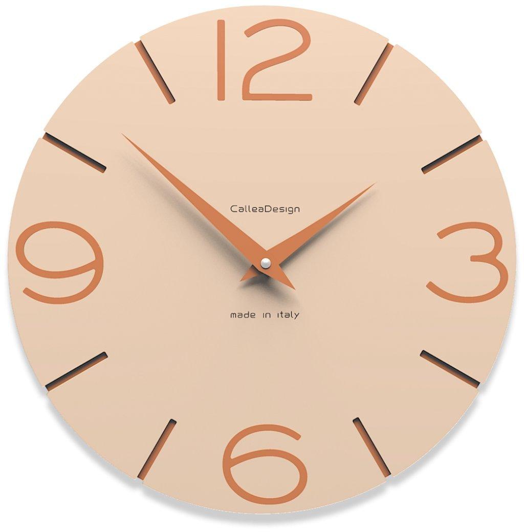 CalleaDesign 壁時計 Smile (ピンクの砂) B00ZC1WLA4 ピンクの砂 ピンクの砂