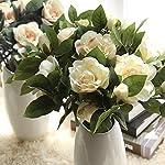 Yinhua-3-Packs-Artificial-Gardenia-Flower-Artificial-Flower-Blooming-Artificial-Flower-Bouquet-for-Home-Wedding-Arrangement-Decoration