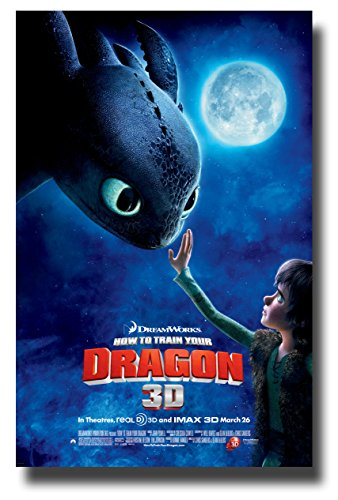 How To Train Your Dragon Poster Movie Promo 11 x 17 inches -