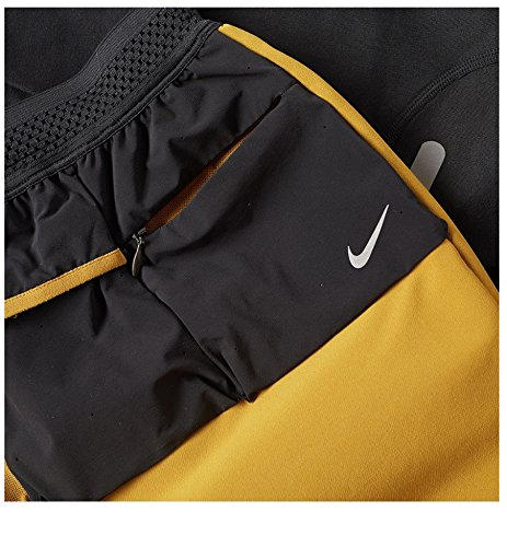 Nike X Undercover GYAKUSOU Utility Men's Tights (XL, Bronzine/Black) by Nike (Image #3)