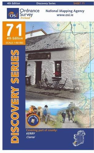 Irish Discovery Series 71. Kerry 1 : 50 000