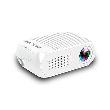 Mini proyector portátil, proyector multimedia de cine en ...