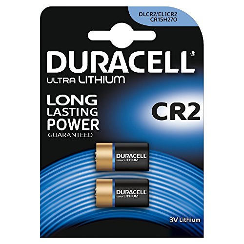 Duracell Specialty Ultra Typ CR2 Lithium Fotobatterie, 2er Pack