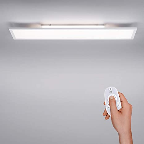 Led Panel Ip 20 Dimmable With Remote Control Ceiling Light Colour Temperature Control Warm White Cold White Ceiling Lamp Flat Indirect Ceiling Lighting Amazon De Beleuchtung