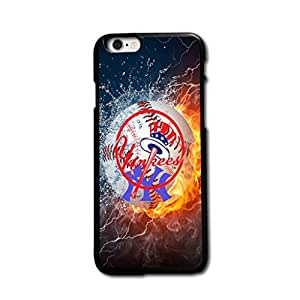 Tomhousomick Custom Design Forever MLB New York Yankees Team Case Cover for iPhone 6 4.7 inch