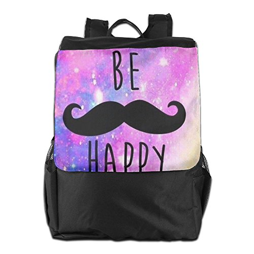 Travel School Be Strap Dayback Camping HSVCUY And Happy Outdoors For Backpack Personalized Men Adjustable Storage Shoulder Women YvxYwtqX