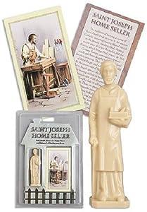 saint joseph home seller statue kit st joseph home selling kit patio lawn garden. Black Bedroom Furniture Sets. Home Design Ideas