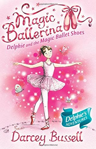 book cover of Delphie and the Magic Ballet Shoes