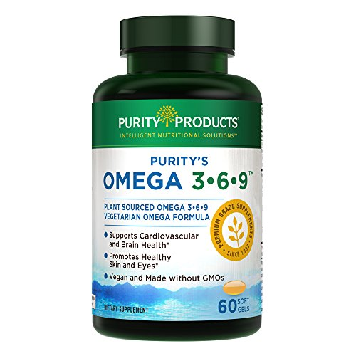 Omega 3-6-9 Vegan and Vegetarian Omega Formula -