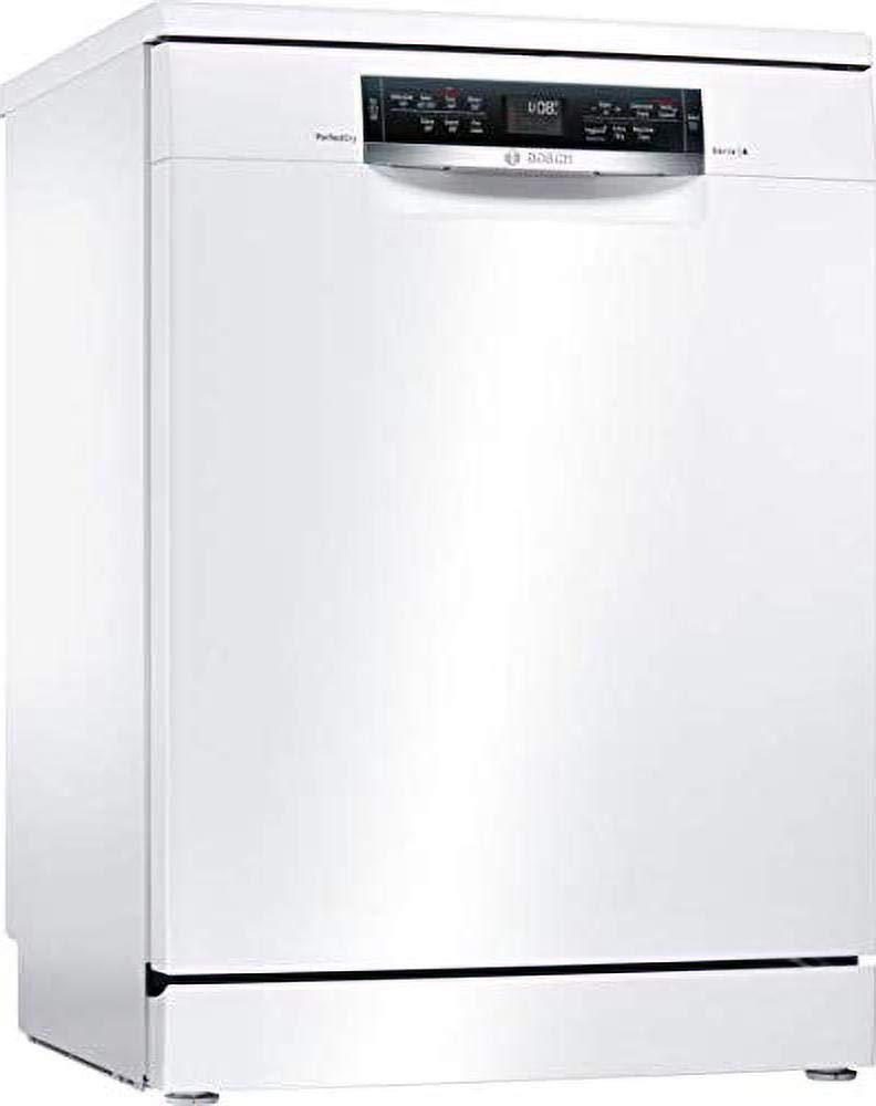 Bosch SMS67MW00G Serie 6 Freestanding Dishwasher with PerfectDry, 14 place settings, 60cm wide - White