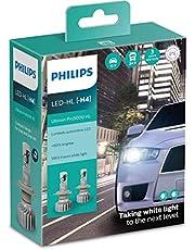 Par Lâmpada Philips Led Ultinon PRO5000 H4 5800K HL