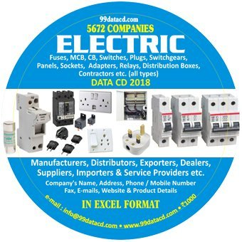 Buy ELECTRIC Fuses, MCB, CB, Switches, Plugs, Switchgears, Panels