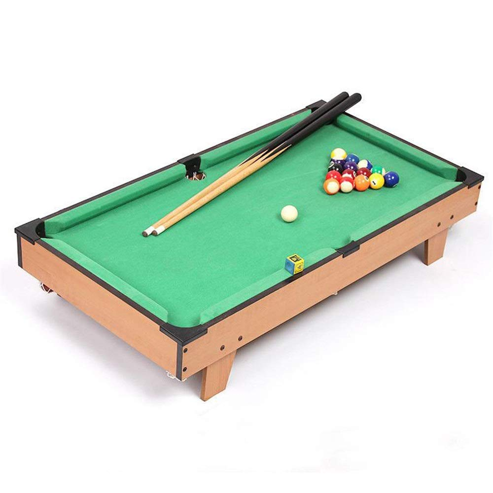 Ybriefbag-Sports Tabletop Billiards Table Top Miniature Pool Game for Adults Kids Mini Pool-Billiard Table Tabletop Toy (Color, Size : 69x37x22cm) by Ybriefbag-Sports