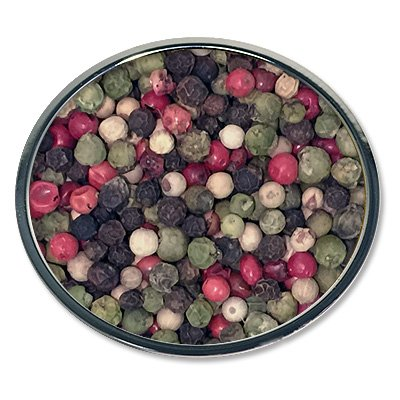 (Chef Cherie's Five Peppercorn Mix in a One Pound Bag)