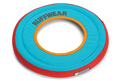 - RUFFWEAR - Hydro Plane Floating Disc for Dogs, Blue Atoll (2018)