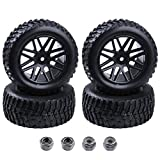"Best Wheels For HPIs - 4pcs 2.2"" RC Rally Car Rubber Tires Review"