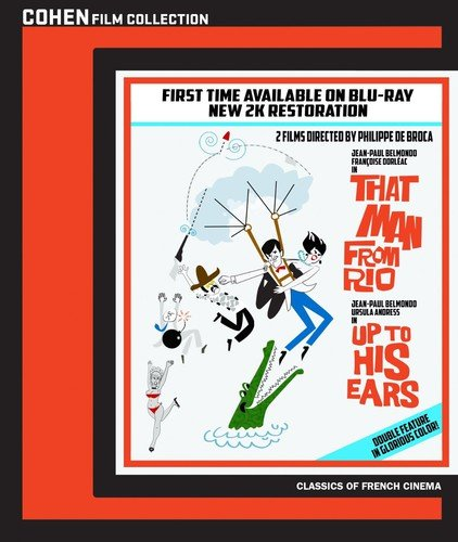 That Man from Rio / up to His Ears [Blu-ray]