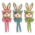 Burton-Burton-Easter-Bunny-Sisal-Door-Hangers-Set-of-3