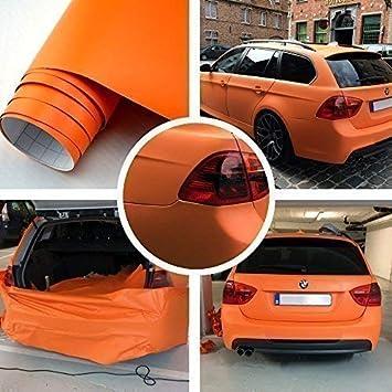 Auto Folie Dunkelgrau Matt 13 x 1.52 meter Blasenfrei Luftkanäle Car Wrapping