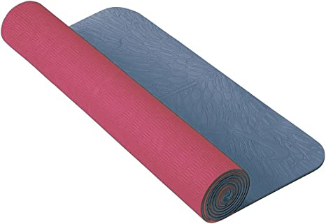referir Mucama Sobrio  Nike Yoga Mat (3Mm, Sky Pink/Blue Dusk): Amazon.co.uk: Sports & Outdoors