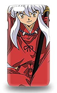 Iphone 6 3D PC Case Premium Protective 3D PC Case With Awesome Look Japanese Inuyasha ( Custom Picture iPhone 6, iPhone 6 PLUS, iPhone 5, iPhone 5S, iPhone 5C, iPhone 4, iPhone 4S,Galaxy S6,Galaxy S5,Galaxy S4,Galaxy S3,Note 3,iPad Mini-Mini 2,iPad Air )