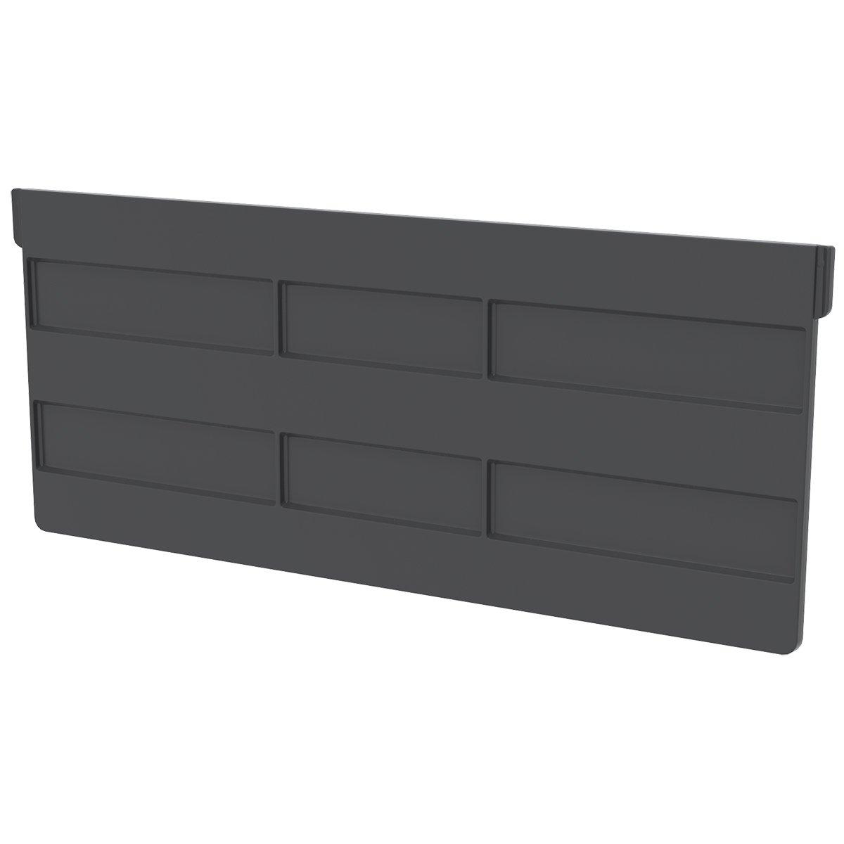 Akro-Mils 41250 Crosswise Width Divider for 30250 Akro Bin, Black, 6-Pack