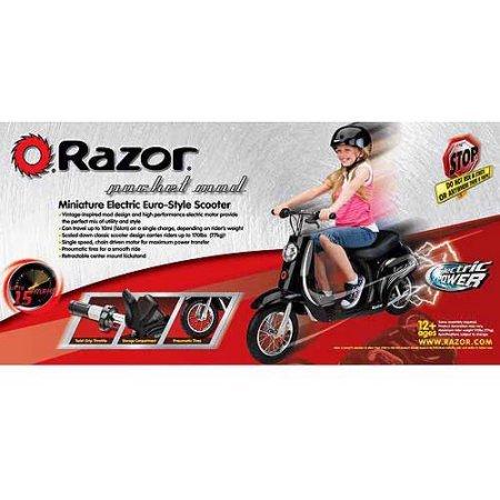 Amazon.com: Razor Pocket Mod patinete eléctrico: Sports ...