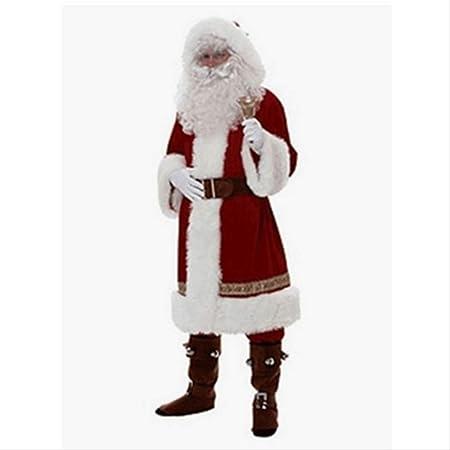 CHHGS Santa ClausNavidad Santa Claus Traje Cosplay Santa ...
