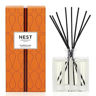 NEST Fragrances Reed Diffuser- Pumpkin Chai , 5.9 fl oz