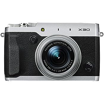 Fujifilm X30 12 MP Digital Camera with 3.0-Inch LCD (Silver)
