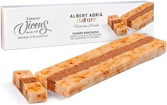 Turrón Barcelona Adrià Natura 300 gr: Amazon.es: Alimentación y ...