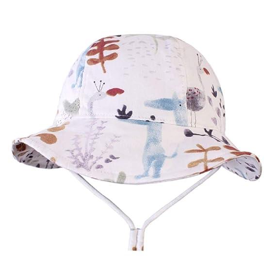 7687813edcce Amazon.com: Baby Sun Hat Toddler Kids Wide Brim UPF 50+Sun ...