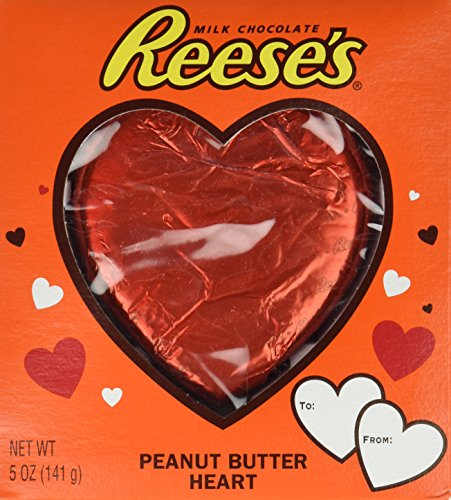 Reeses Valentines Peanut Butter Heart, 5-Ounce Packages (Pack of 2)
