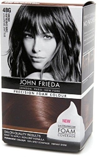 John Frieda Precision Foam Colour, Dark Chocolate Brown 4BG