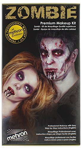 Mehron Zombie Makeup Kit