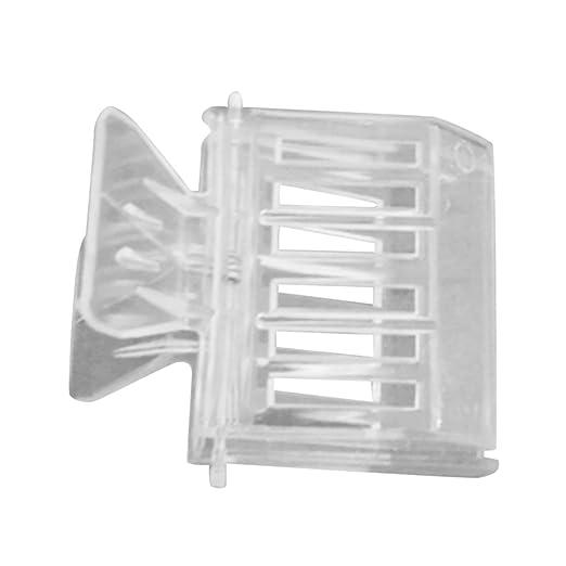 HONZIRY Clip de plástico Transparente Clip de Jaula Reina Clip de ...