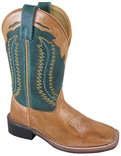 - Smoky Frank Children Cowboy Boot, Tan, 13M
