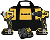Best Brushless Drills - DEWALT DCK278C2 ATOMIC 20-Volt MAX Lithium-Ion Brushless Cordless Review
