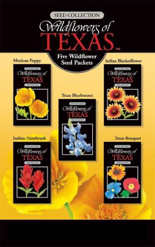 Texas Wildflower Seeds Pack of 5 Varieties Gift Boxed