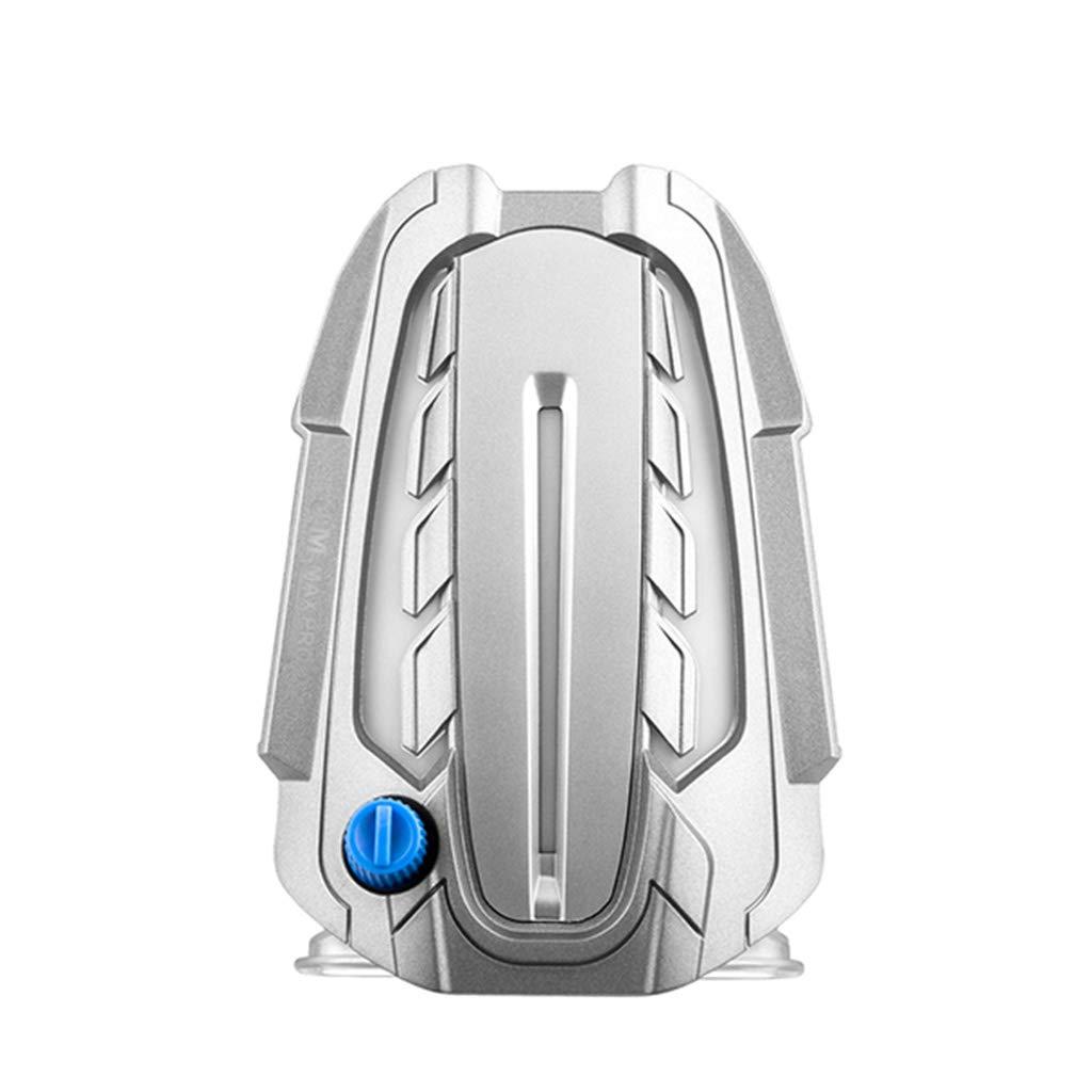 PC Portátil Refrigerador Led, De Pantalla Led, Refrigerador Enfriamiento Del Ordenador Portátil Powered Ventilador Silencioso USB, Ordenador Portátil Ventilador De Aspiración Extractor De Aire Para El Enfriamiento Rápido De Juego Port&aac dd4ea2