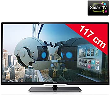 Philips 46PFL4208H/12 - Televisor LED Smart TV + Kit soporte mural n°2 + cable HDMI: Amazon.es: Electrónica