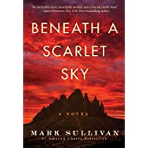 """Beneath a Scarlet Sky"" by Mark Sullivan for $2.49"