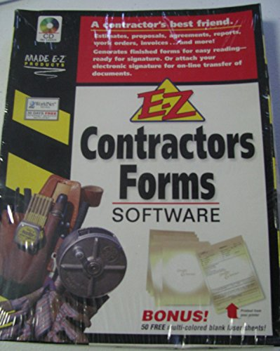 E-Z Contractor's Forms Software